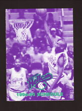 Hartford Hellcats-1994-95 Pocket Schedule--WDRC/Pyne-Davidson--CBA