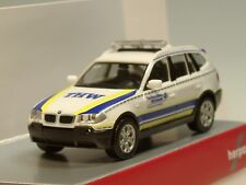 """Herpa BMW X3 """"THW Hattingen"""" - 093330 - 1:87"""