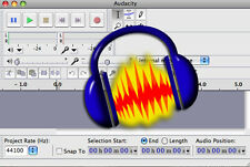 * Audacity * Audio-Editing-software  Windows & MAC + User Guide