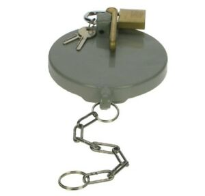 """4"""" Single Arm Fill Point Cap With Fixed Padlock For Petrol Filling Station"""