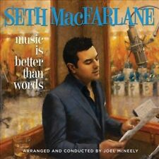 1 CENT CD Music Is Better Than Words - Seth MacFarlane