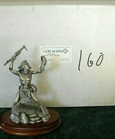 """Chilmark Pewter """"FALSE FACE"""" 1992 Limited Ed # 160 of 500 By Don Polland (NIB)"""