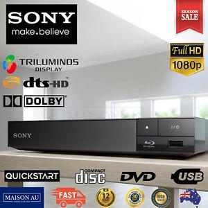 Sony Blu Ray DVD CD Disc Player Triluminous Full HD USB Quickstart 7.1ch
