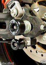 MOTORCYCLE R&G Swingarm Protectors HARLEY DAVIDSON XR1200 MODELS ONE PAIR BLACK