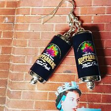 Earrings handcrafted Cans miniature Glasto Unique Kopparberg Mixed Fruit Cider