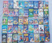 Vhs Kasetten Disney Konvolut 45 Stück Sammlung