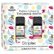 alessandro Striplac Nagellack Set 2x 8ml Fashion Colours by Thomas Rath