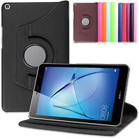 360°Huawei MediaPad T3 8 Schutz Hülle Kunst-Leder Smart Cover Case Etui+Pen-N