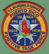 UNITED STATES MARSHAL SERVICE PUERTO RICO FUGITIVE TASK FORCE POLICE PATCH