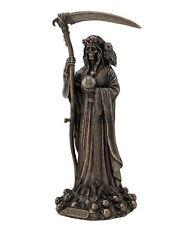 12.5 Inch Santisima Santa Muerte Saint Holy Death Grim Reaper Statue Skull