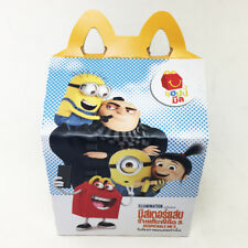2017 Despicable ME 3 Minion McDonalds Happy Meal Box Toys New Hobby Collectibles