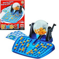 BINGO FAMILY GAME LOTTO 90 BALLS 48 CARDS TRADITIONAL CHILDRENS BOARD GIFT SMALL