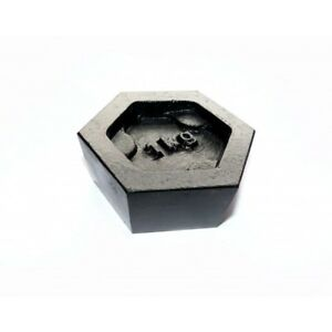1Kg Iron Hexagonal Calibration Test Weight