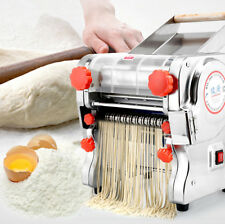 220V Electric Pasta Press Maker Noodle Machine Dumpling Skin Home Commercial