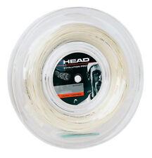 Evolución de cabeza Pro 17 Squash Raqueta Cuerda Carrete 110m/360ft - Blanco-AUTH distribuidor