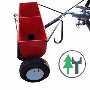 Streuer KS90 Kastenstreuer Walzenstreuer für Traktoren Sandstreuer Splittstreuer