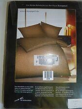 Bettwäsche 2 Tlg. Kaeppel 155 x 220 cm Bettbezug Kissen
