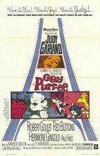 GAY PURR-EE Movie POSTER 27x40 Judy Garland Robert Goulet Red Buttons Hermione