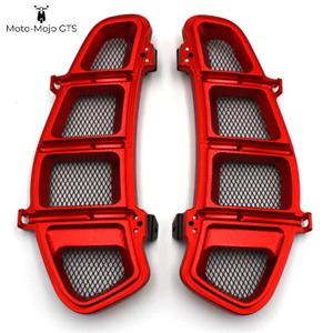 Vespa GTS GTV GT Side Grills Vents 125 200 250 300 Red