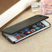 Deluxe Slim book Leather +TPU wallet Flip Cover skin Case For iPhone 6 Plus 6S +