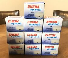 10x2 Pack (20)Total EHEIM 2618060 AQUABALL 2206 FILTER CARBON CARTRIDGES NIB OEM