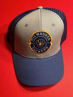 MILWAUKEE BREWERS 1980's Logo MLB Baseball Hat Vtg Miller Park SGA NEW