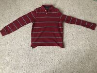 Abercrombie & Fitch Long Sleeve Polo Shirt Size L
