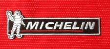 MICHELIN MAN TYRE TYRES RACING TEAM MOTOR SPORTS CAR BADGE IRON SEW ON PATCH