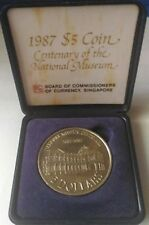Singapore 1987 Centenary Of The National Museum $5 Silver Coin (Uncirculated)
