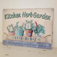 Metal Floral Decorative Plaques & Signs
