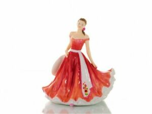 THE ENGLISH LADIES CO FLOWER OF THE MONTH FIGURE / DOLL - NOVEMBER CHRYSANTHEMUM