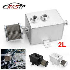 2L Universal Car Aluminum Baffled Fuel Tanks With Breather & Filter Drain Tap