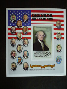Stamps - Grenada-Grenadines - Scott# 99a - Souvenir Sheet of 1 Stamp - Imperf