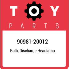 90981-20012 Toyota Bulb, discharge headlamp 9098120012, New Genuine OEM Part