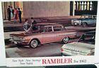 1962 AMC Rambler Ambassador V8 American Classic 6 Sales Brochure Original