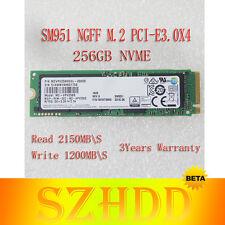 New M.2 22x80 Samsung SM951 NVMe 256GB SSD PCI Express 3.0 x4 Solid State Drive