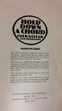 Hold Down A Chord: Folk Guitar For Beginners: John Pearse: Music Score (A3)