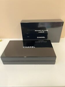CHANEL ACRYLIC BOX CASE VIP BEAUTY Gift ROUGE ALLURE LAQUE NEW & AUTHENTIC