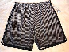 NWT Speedo Men's Swim Fitness Shorts Trunks Built In Compresor SZ XL MSRP $64