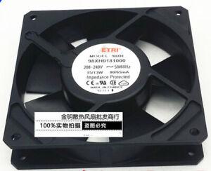 ETRI 12025 12CM 98XH0181000 AC208-240V Industrial High-end equipment AC fan