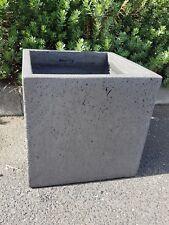 Garden Pots: Antique Light Weight Concrete  Square RRP.  $120