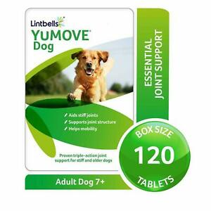 Lintbells YuMOVE Dog Joint Supplement for Stiff Older Dog 40/ 60/120 ,240Tablets