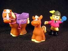 Fisher Price Little People HORSE SARAH LYNN PONY Jump Ride Replacement Figures