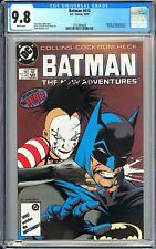 Batman #412 CGC 9.8 WP 1987 3721849009 Origin & 1st Mime (Camilla Ortin)