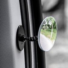 Car 360° Blind Spot Side Mirror Stick On Glass Adjustable Safety Lens Miror Sp