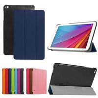 Slim Skin Leather Case Stand Cover For Huawei Mediapad T1 10 T1-A21w Tablet 9.6""