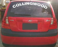 Large Collingwood Windscreen Decal Sticker 900 x 185mm