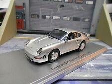 PORSCHE 911 Carrera 3.2 E19 Prototyp 959 1984 silber silver Resin Kess 1:43