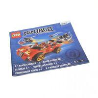 1x Lego Bauanleitung Heft 2 Ninjago Rebooted Ninja Charger Supercar 70727