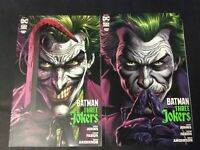 "BATMAN THREE JOKERS: SET OF #1-3,  ""A"" COVERS, DC COMICS 2020"